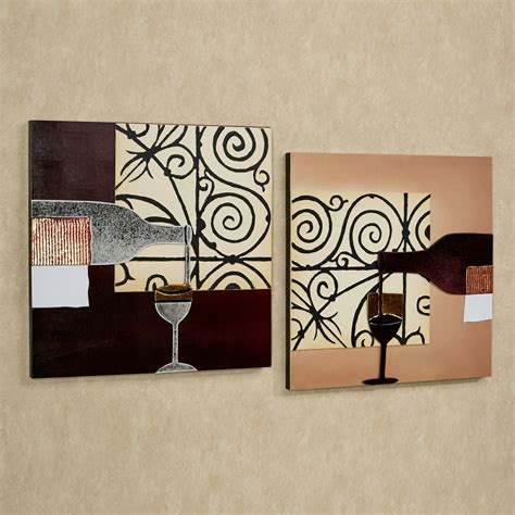 ideas for kitchen wall art lovable 2 pieces artwork portray as kitchen wall decor