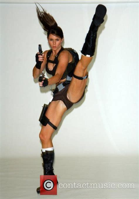 as croft lara alison carroll alison carroll the new face of lara croft from the game