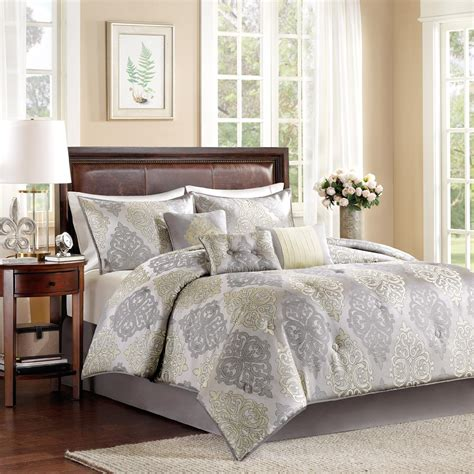 colormate 6 piece serena comforter set filigree home