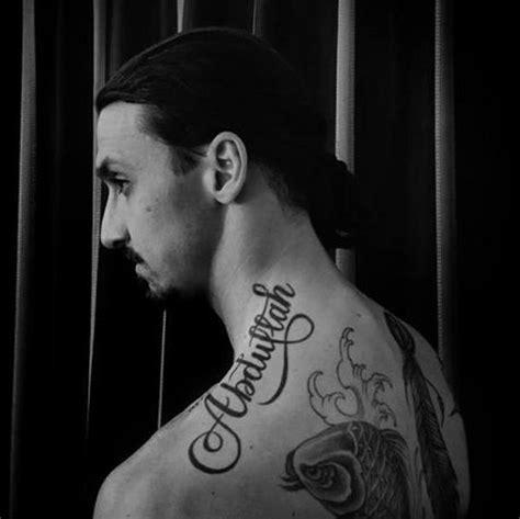 zlatan ibrahimovic tattoo significato ligue 1 ibrahimovic il nuovo tatuaggio 232 contro la fame