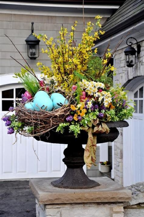 spring decorating ideas for your front door make arrangements easter itself creative craft ideas for