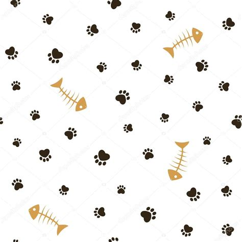 free tumblr themes for illustrators 猫主题无缝背景 图库矢量图像 169 catchat 65876041