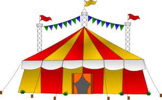 Big Top Canopy by Circus Clipart Of A Carnival Clown Ferris Wheel And Circus