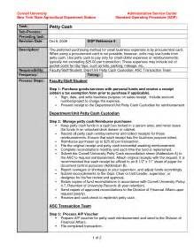 procedure template standard operating procedure template exle evq8bwf6