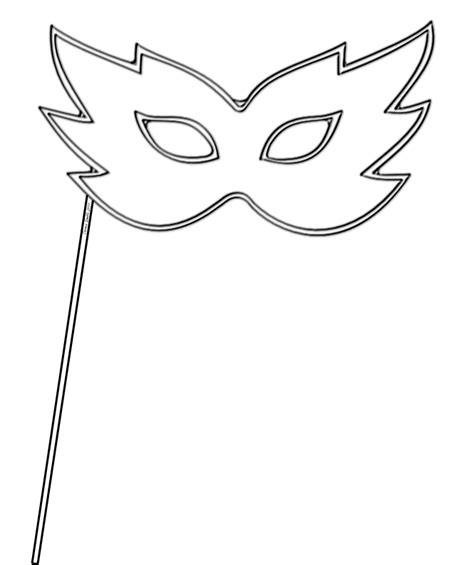 Mask Template For Masquerade masquerade mask template beepmunk