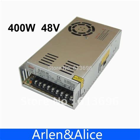 ac led light strip 400w 48v 8 3a single output switching power supply for led