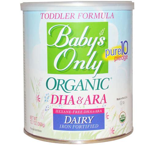 Dijamin Im Organic Kitten Baby And Formula 7 5 Kg baby s only organic toddler formula dha ara dairy iron fortified 12 7 oz 360 g iherb