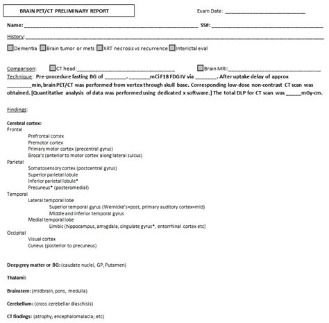 Normal Head Ct Report Template Immigrantsessay Web Fc2 Com Normal Radiology Report Templates