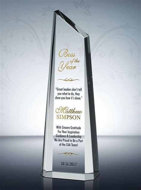 awards for best 68 best appreciation and thank you gift plaques images on