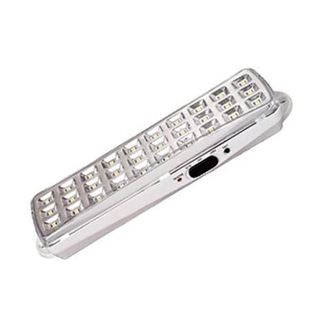 Lu Emergency Cmos Mg Led v tac 16 leds bulk emergency exit light ip65 white