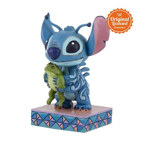 Plester Luka Stitch Karakter Disney jual disney traditions stitch with frog persona figurine harga kualitas terjamin