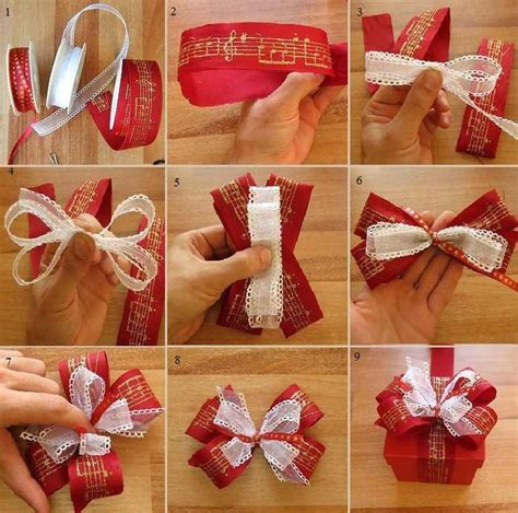 make a cute bow for your christmas gifts gift ideas