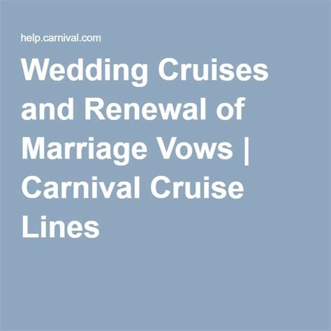 Cruise And Vows 25 best ideas about carnival cruise wedding on
