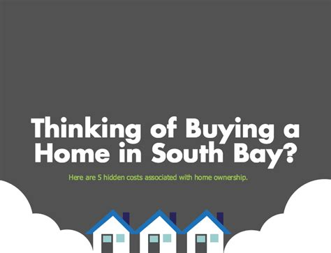 the costs of owning a south bay home