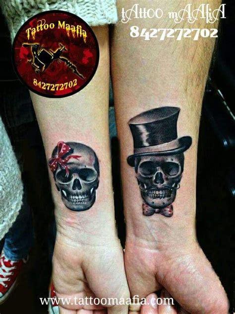 couples skull tattoos best 25 skull ideas on skeleton