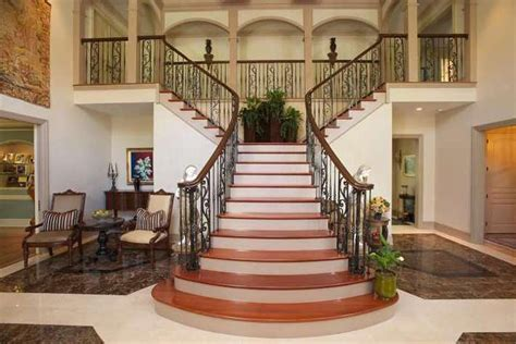 Mansion Home Designs for sale sensational staircases to make a grand entrance