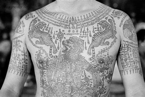 thai tattoo and meaning thailand is a deeply spiritual country in which both