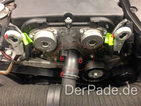 Thermostat Mercedes E200 W211 271 anleitung w203 thermostat wechseln m271