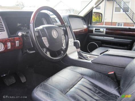 black interior 2003 lincoln navigator luxury 4x4 photo