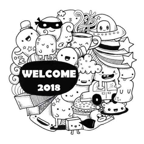new year 2018 colouring pages coloring page new year 2018 2