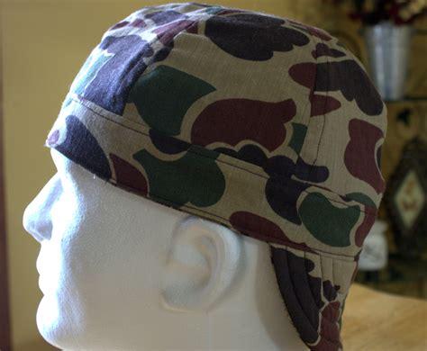 custom camo skulls welding cap welders hat reversible 6 panel old school marine camo welding hat reversible welders hat