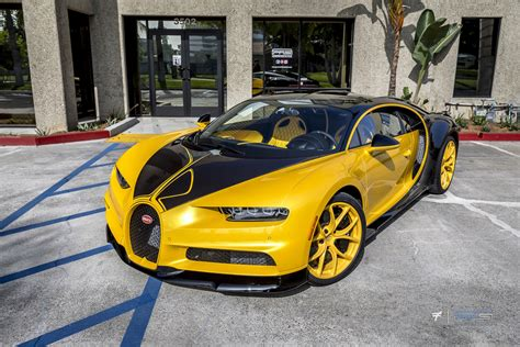 Bugatti Chiron Hellbee Protective Film Solutions
