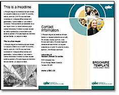 templates of brochures