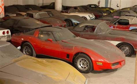 corvette collection forgotten corvette collection rediscovered