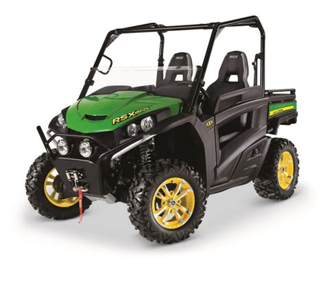 deere updates gator high performance utility vehicle