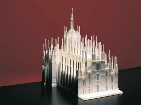 世界著名建筑模型图片 Paper Models Of World Famous Buildings壁纸 世界建筑模型