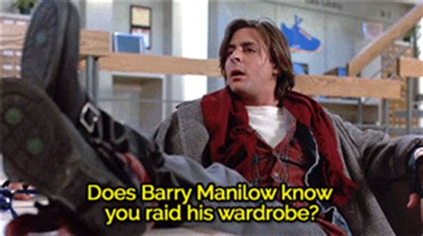 Does Barry Manilow You Raid His Wardrobe by The Breakfast Club Gif Find On Giphy