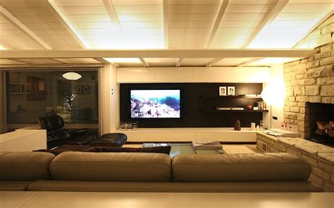 1 Unit Home Theater living room wall system ikea hackers ikea hackers