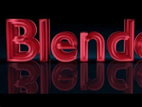 blender 3d text tutorial youtube blender tutorial for beginners 3d text youtube