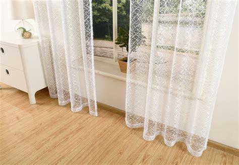 Vorhänge Netzoptik by Gardine Netzvorhang Mit 214 Sen Einfarbig Transparent 245x140