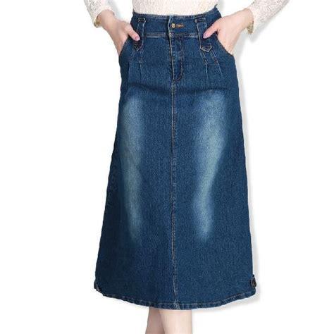 free shipping 2015 winter fashion denim skirts