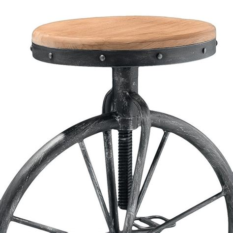 adjustable bar stool on wheels trent home 26 quot davide bicycle wheel adjustable bar stool