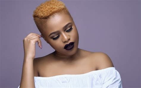 south africal celebrities with african hair sa celebs who kill the blonde bombshell look part ii