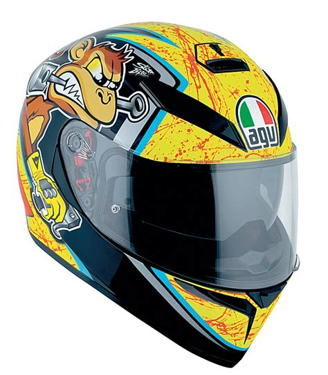 Helmet Shoei Monkey nicol 242 bulega agv k3 sv helmet replica race helmets