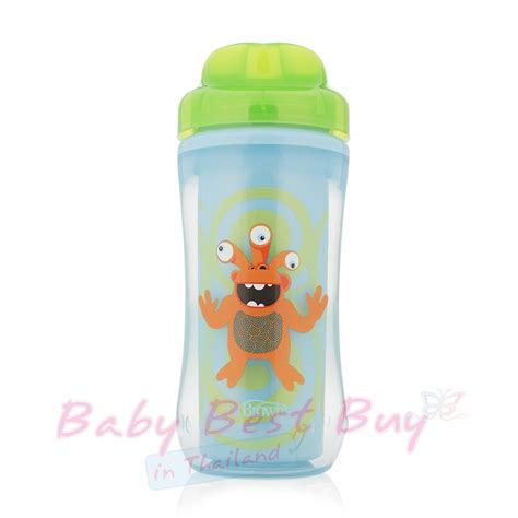 Dr Brown39s Spout Insulated Cup 10oz แก วหลอดด ด dr brown s spoutless insulated cup 10oz