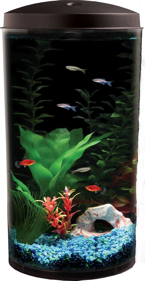 betta fish tank light 6 gal starter aquarium kit led light fish tank bowl filter