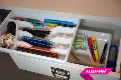 kitchen desk organization desk drawer organization on a budget part 3 of 4