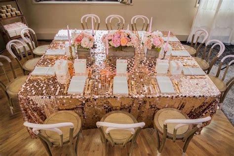 Rustic Elegance Home Decor Kara S Party Ideas Pink Gold 1st Birthday Party Kara S