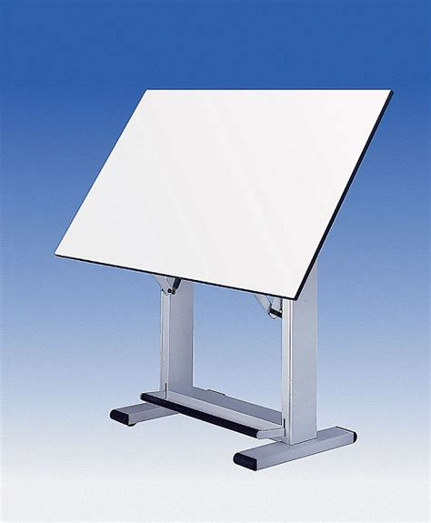 Alvin Drafting Table Elite White Base 36x48 Top Alvin White Drafting Table