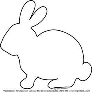 bunny template printable bunny stencil clipart best