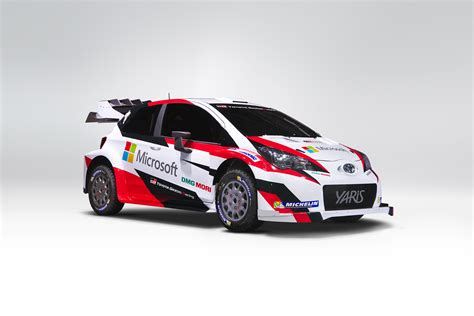 toyota rally car microsoft and toyota join forces in fia rally