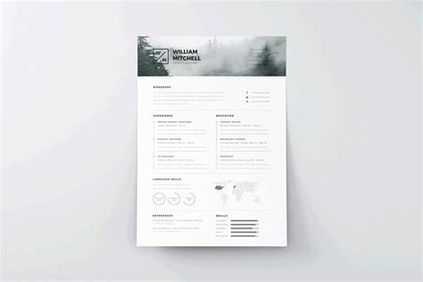 20 Beautiful Free Resume Templates For Designers Resume Template Ai