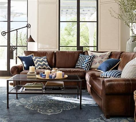 Pillows For Brown Leather Sofa Best 25 Brown Ideas On Pinterest Brown Decor Brown Living Room And
