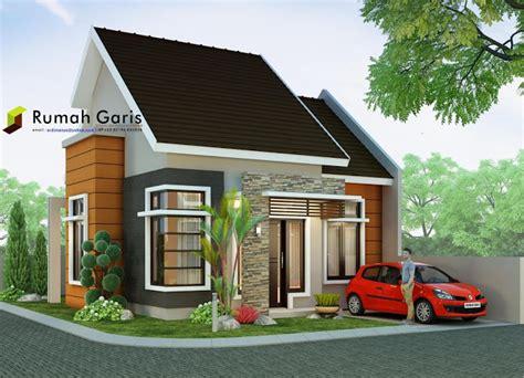 membuat desain rumah 3d online rumah minimalis modern tipe 60 di lahan sudut 10x15 meter