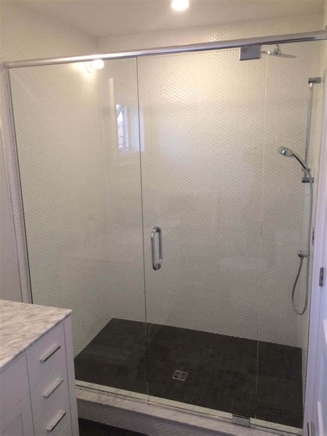 custom shower doors amp enclosures mampt glass