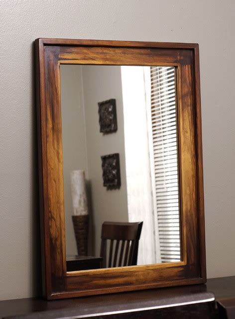 wood framed mirrors rustic wall mirrors milwaukee wood framed mirrors rustic milwaukee by kennethdante
